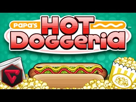 PAPA'S HOT DOGGERIA: ¡RICOS PERRITOS CALIENTES!