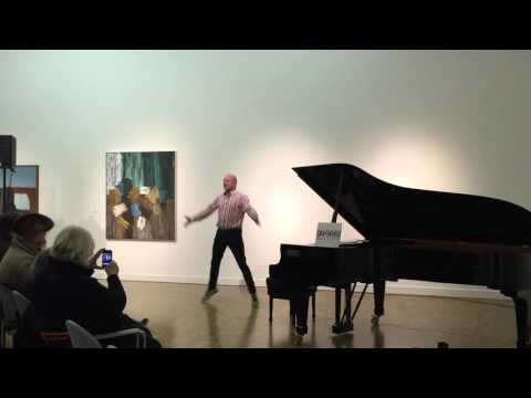 Second last song at Snorri Asmundsson's Christmas Concerts in National Gallery of Iceland