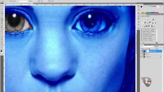 Avatar Navi erstellen Teil 2/3 - Photoshop Tutorial