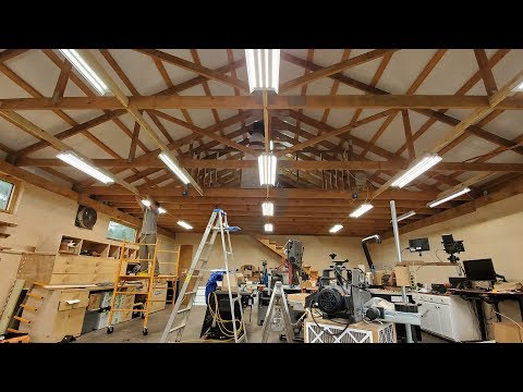 30×40 Shop Part 5: Electrical, Lighting, And Security