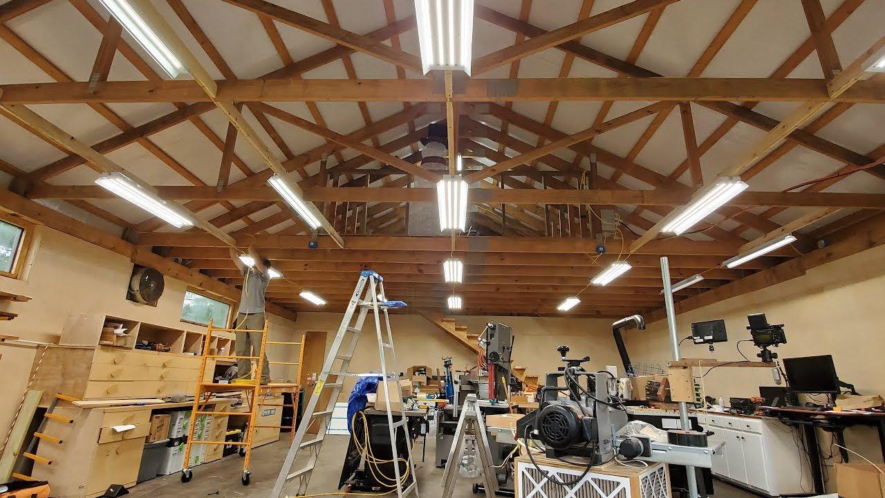30 40 shop part 5 electrical lighting