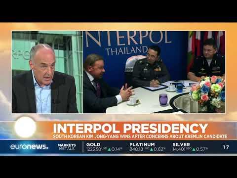 South Korean Kim Jong Yang Is The New Interpol President | #GME