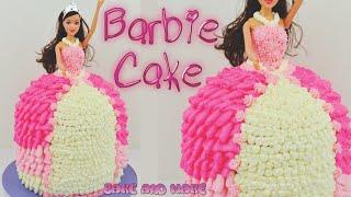 how to make a barbie doll princess cake tutorial bake and make with angela capeski