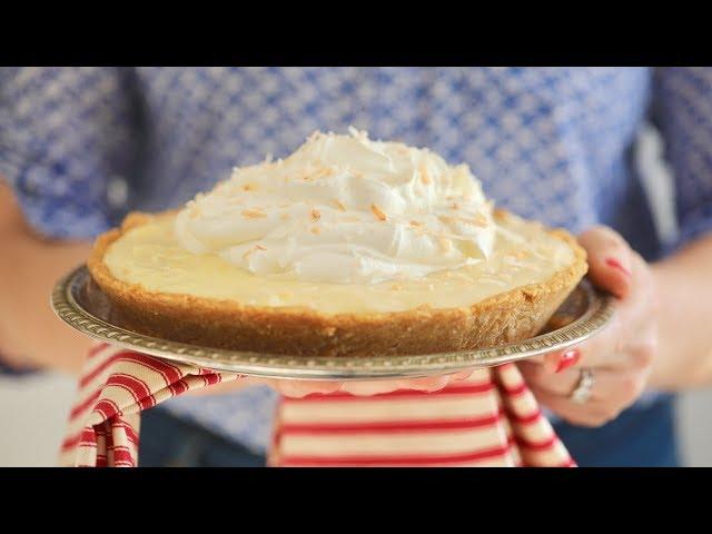 15 Minute Coconut Cream Pie