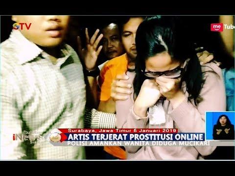 Selain Artis VA dan AS, Polisi Amankan Wanita Diduga Mucikari - BIS 06/01