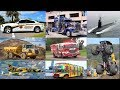 Fire Trucks, Police Car - Cars and Trucks for Kids | Learn Vehicles Names and Sounds for Children