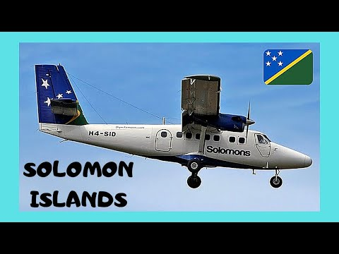 SOLOMON ISLANDS: How NOT TO REFUEL AN AIRPLANE (PACIFIC OCEAN)