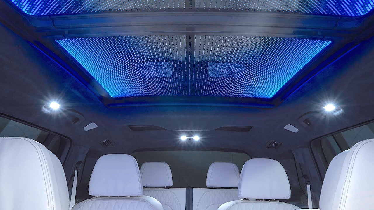 Bmw X7 Skylounge 15 000 Led Glass Roof Bmw X7 Interior