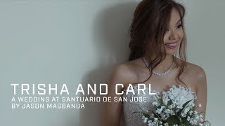 Trisha and Carl: A Wedding at Santuario de San Jose