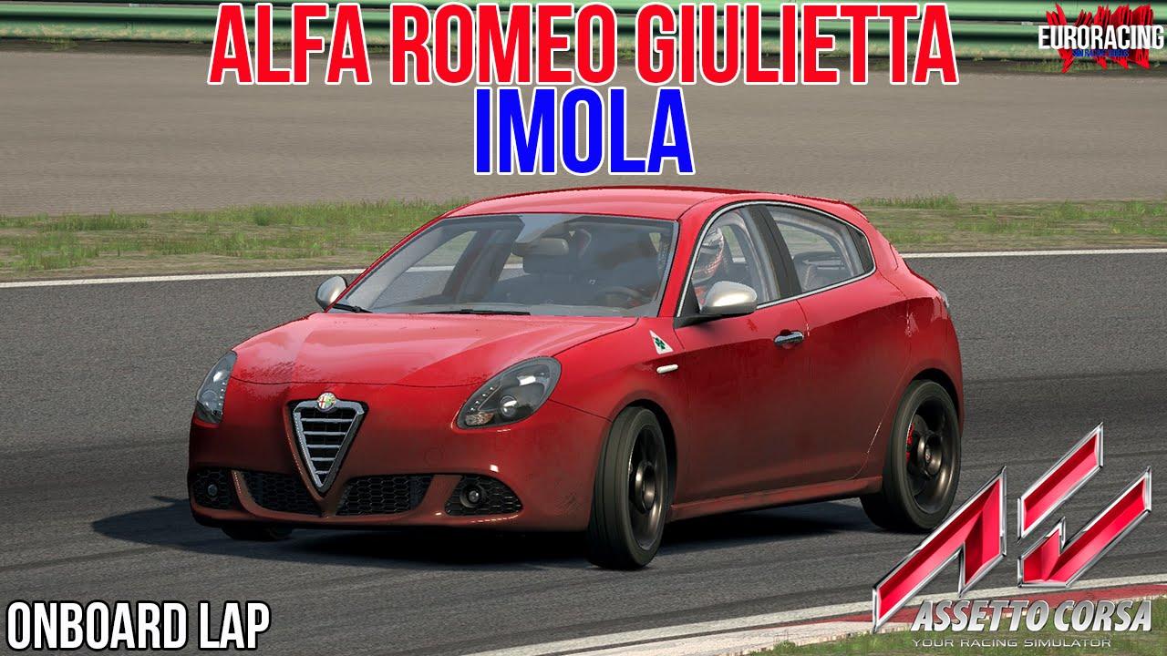 assetto corsa alfa romeo giulietta at imola youtube. Black Bedroom Furniture Sets. Home Design Ideas