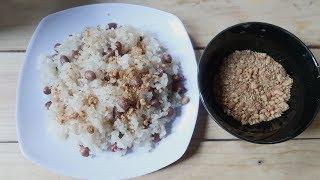 CÁCH LÀM XÔI LẠC MUỐI VỪNG NGON NHẤT( delicious rice in vietnam )