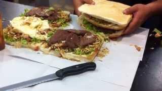 Venezuela's Biggest Hamburger / Hamburguesa Más Grande de Venezuela