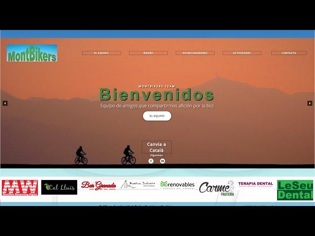 Visita montbikers.com