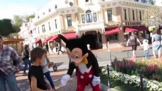 TAP DANCE KID Gabriel Gocobachi blows away MICKEY MOUSE at Disneyland