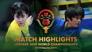 Miu Hirano vs Kim Jin Hyang | 2019 World Championships Highlights (R128)