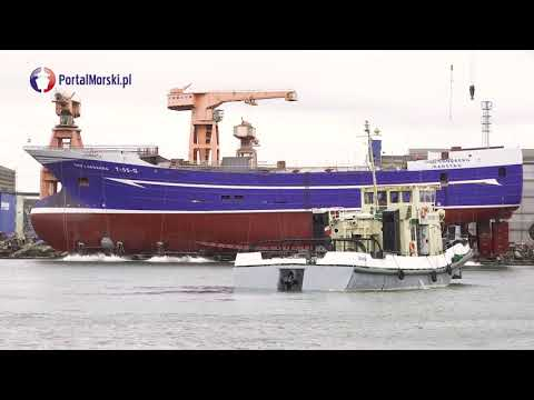 Remontowa Shipbuilding zwodowała trawler