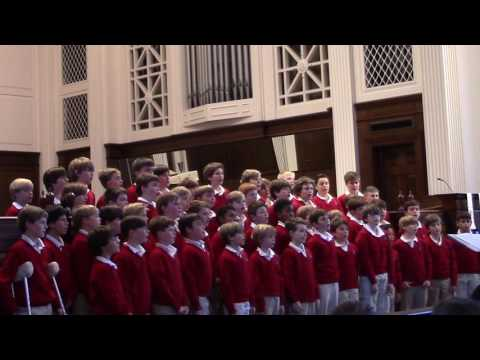 Joint Spring Lower and Middle School Choral Concert 2017