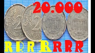 20 euro cent Germany RARE coin ≪ 20 000  $