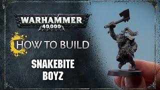 How to Build: Snakebite Boyz