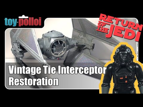 Fix it guide - Tie interceptor Vintage Star Wars