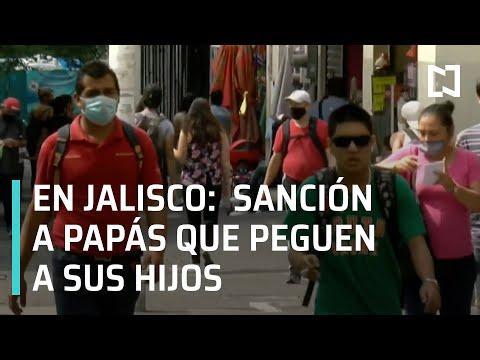 """Ley """"Anti Chancla"""" en Jalisco   Sancionarán a papás que peguen a sus hijos en Jalisco - Las Noticias"""