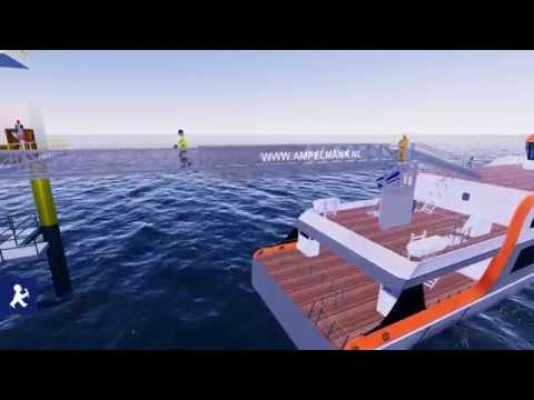 S-type: Providing continuous access from high speed vessels