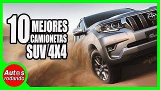 10 MEJORES CAMIONETAS SUV 4x4 PARA EL 2019 🔥