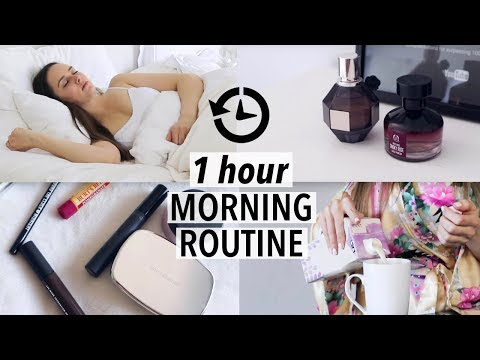 MORNING ROUTINE (One hour realistic + minimal)