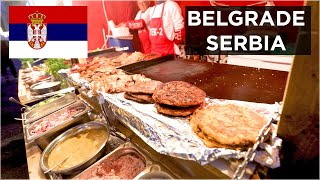 EXPLORING WITH SERBIAN STREET FOOD! - Belgrade Serbia Travel Vlog