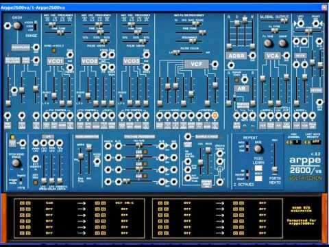 ARPPE 2600VA Sound Demo