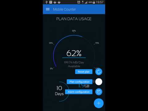 Mobile Counter | Internet Data usage | Roaming - Apps on