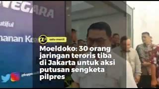 Moeldoko: 30 teroris masuk ke Jakarta jelang putusan MK