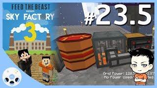 เครื่องปั่นไฟพลังงานไก่ - ตอนพิเศษ มายคราฟ Sky Factory 3 #23.5