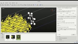 Bina molekül-yüzey sistemleri: Au Benzen(111)