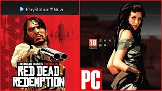 RED DEAD REDEMPTION on PC GAMEPLAY Playstation NOW LiveStream/INTRO