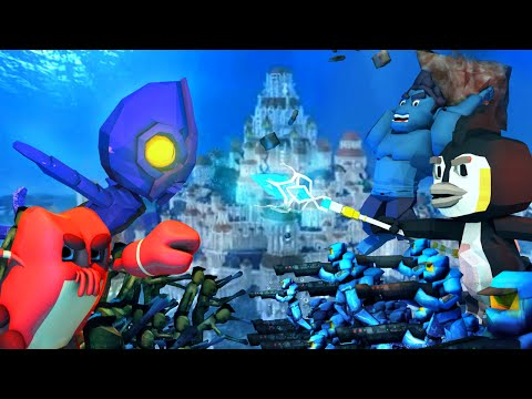 Minecraft | Atlantis Endeavors - ATTACKING THE CONCH COMMAND: Cody Maverick vs Kraken Kid!