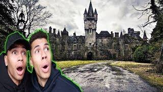 1 NACHT IM GRUSELIGSTEN HOTEL DEUTSCHLANDS !!! | PrankBrosTV
