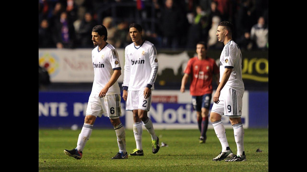 Real Madrid leave it till late in 2-0 win against Osasuna - La Prensa ...