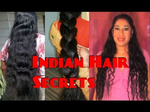 Hairstyles For Long Hair S In Hindi : Indian hair growth secrets night routine how to grow long hair