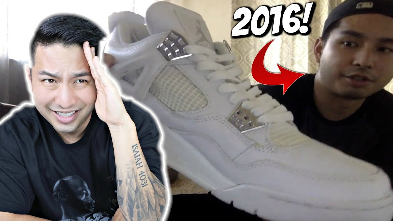 Reacting to My First Sneaker Mystery Box Video!