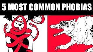 THE 5 MOST COMMON PHOBIAS [And Designing Monsters From Them!]