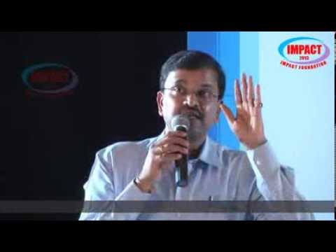 JD LAKSHMINARAYANA gari Speech PART-1 at  IMPACT Travel Video