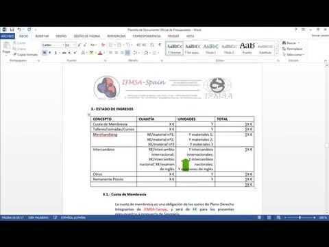 Como hacer un presupuesto parte 2 documento word youtube - Presupuesto construir casa ...