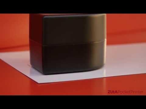 Official ZUtA Pocket Printer Reveal