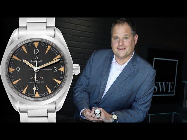Omega Seamaster Railmaster Luxury Watch Review | SwissWatchExpo [Watch Review]