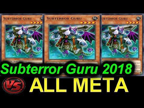 YGOPRO】SUBTERROR GURU VS   ALL META DECKS - 1 CARD ENGINE