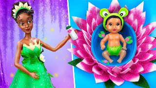 Tiana and Her Baby / 10 DIY Baby Doll Hacks and Crafts