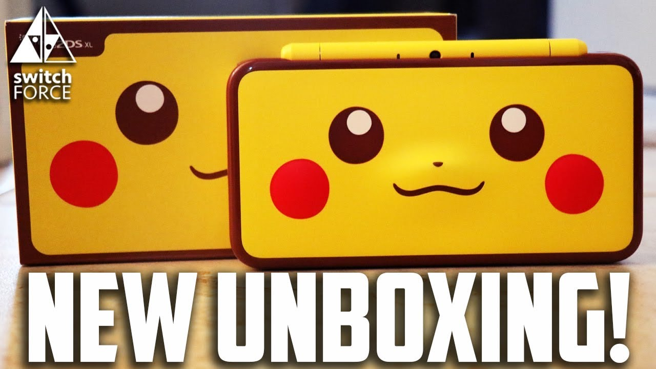 Pikachu 2ds Xl Unboxing Best 3ds 2ds Ever Youtube