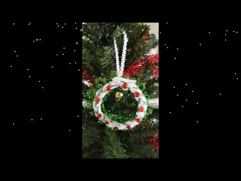 DIY Wreath ornament