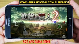 Attack On Titan 2 On Android Gameplay